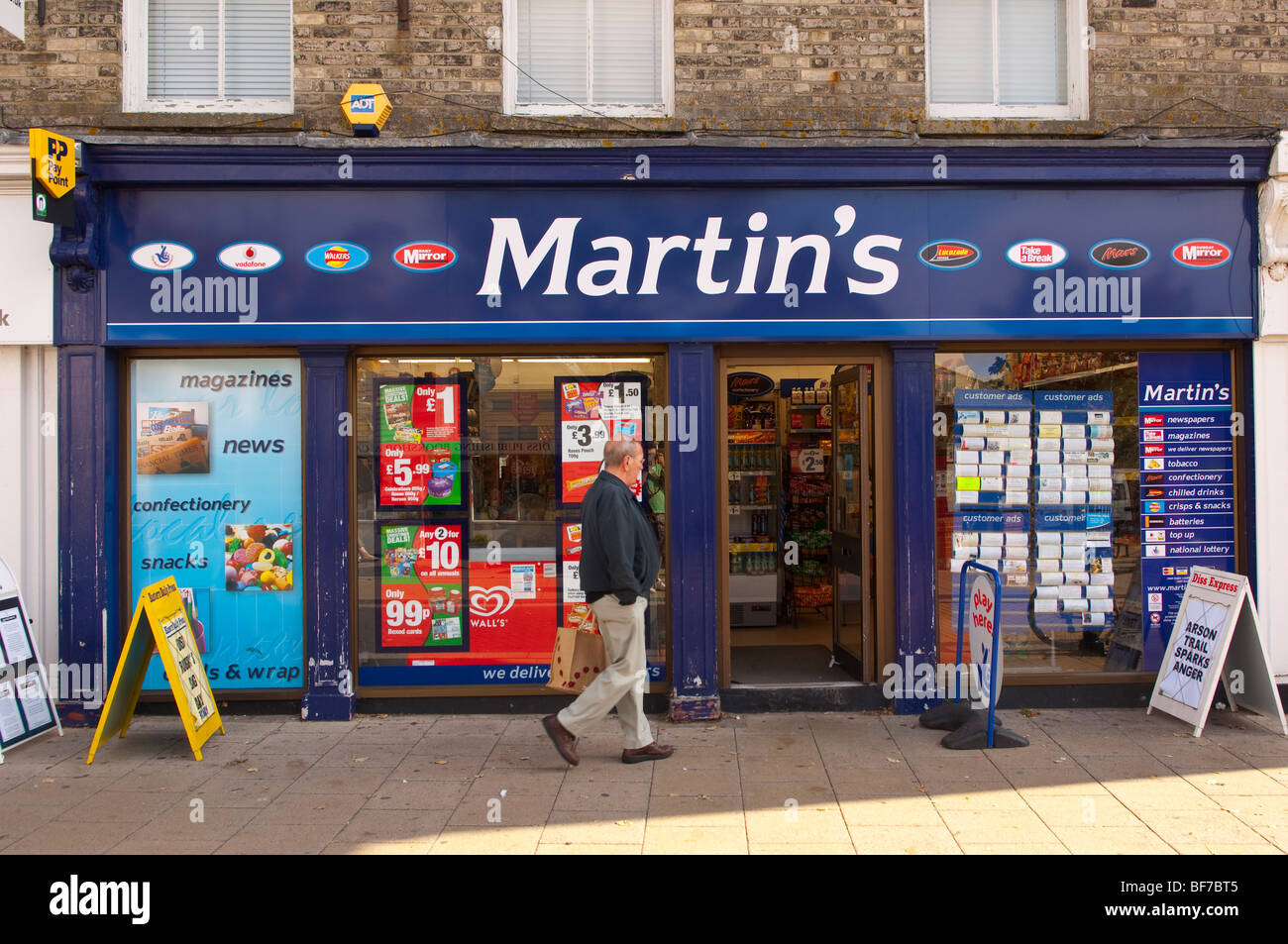 The martin 39 s newsagent shop store in diss norfolk uk stock for Mobel martin instore