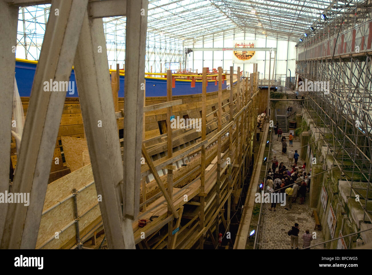 under construction in rochefort l 39 hermione a replica