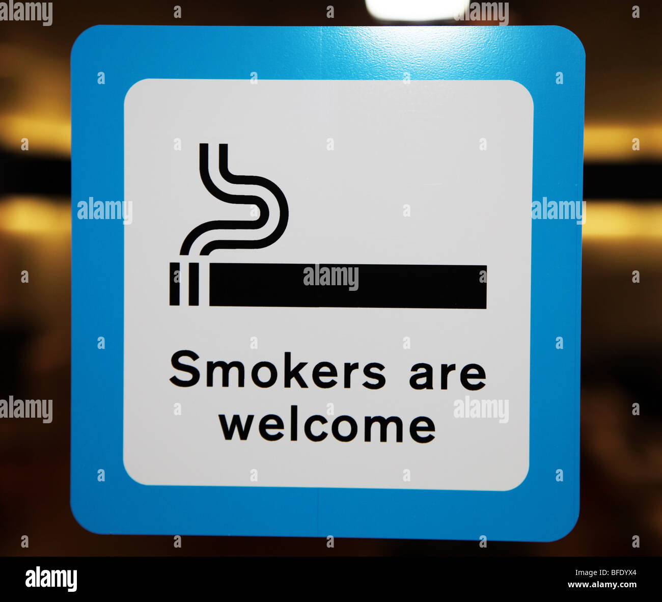 Image result for Smokers welcome  sign