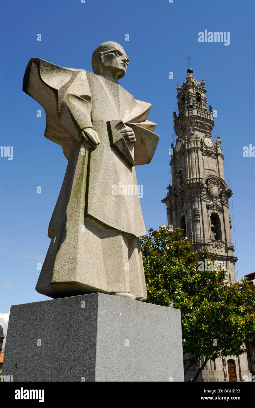 Porto Portugal Statue Of Antonio Ferreira Gomes Bishop