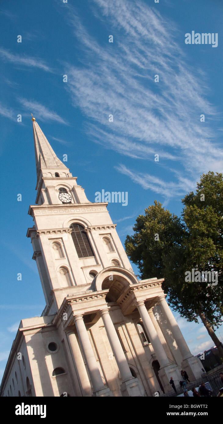 Spitalfields London: Christ Church Spitalfields London Designed By Nicholas
