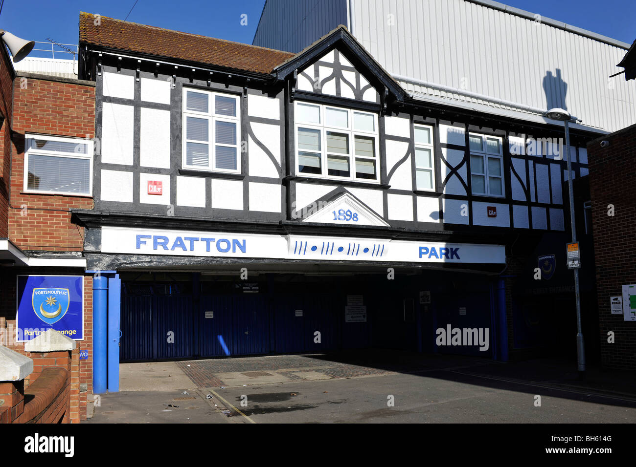 Fratton Park Home Of Portsmouth Football Club Frogmore