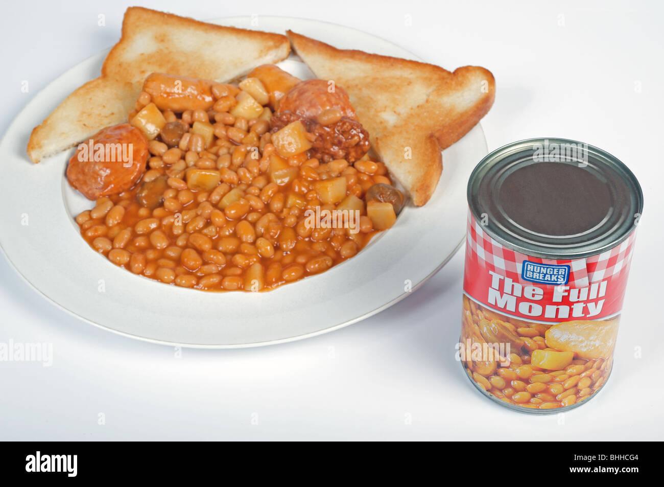Canned Breakfast Foods