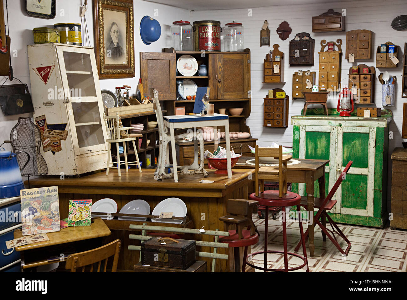 Flea Market Shop With Furniture And Goods For Sale Texas Usa Stock Photo Royalty Free Image