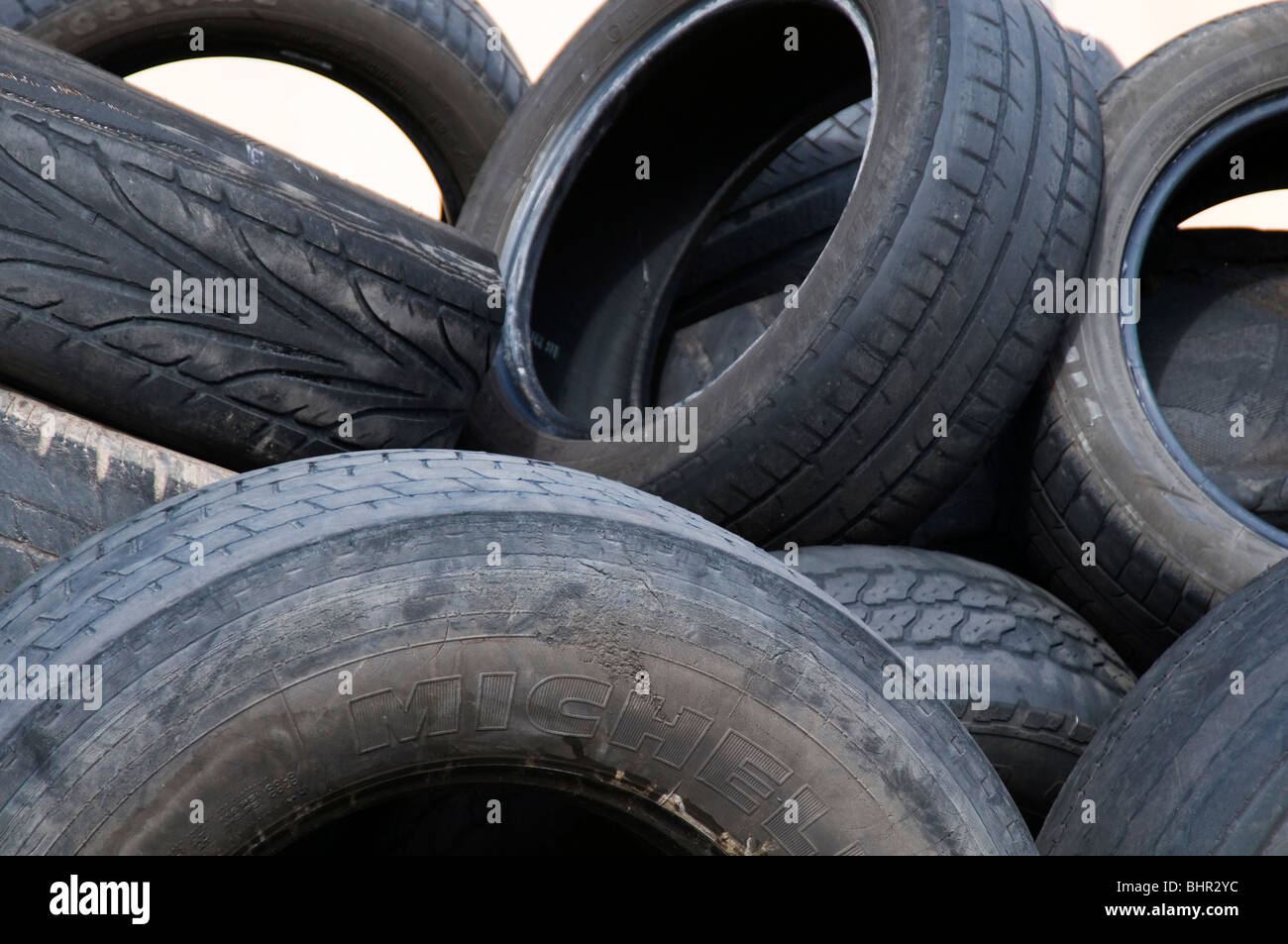 Old car tires tyres tire tyre cars rubbish tread worn out for Old tyre uses