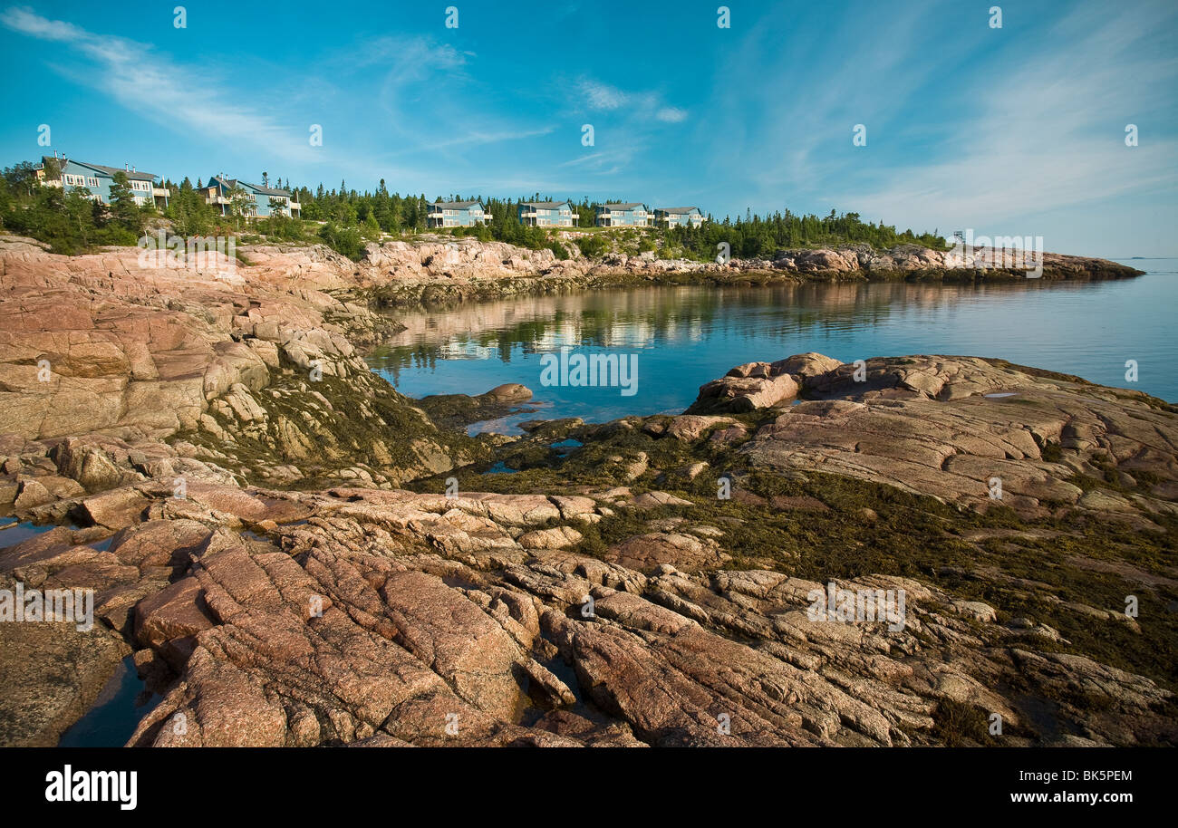River and rock landscape long exposition in essipit for Landscaping rocks canada
