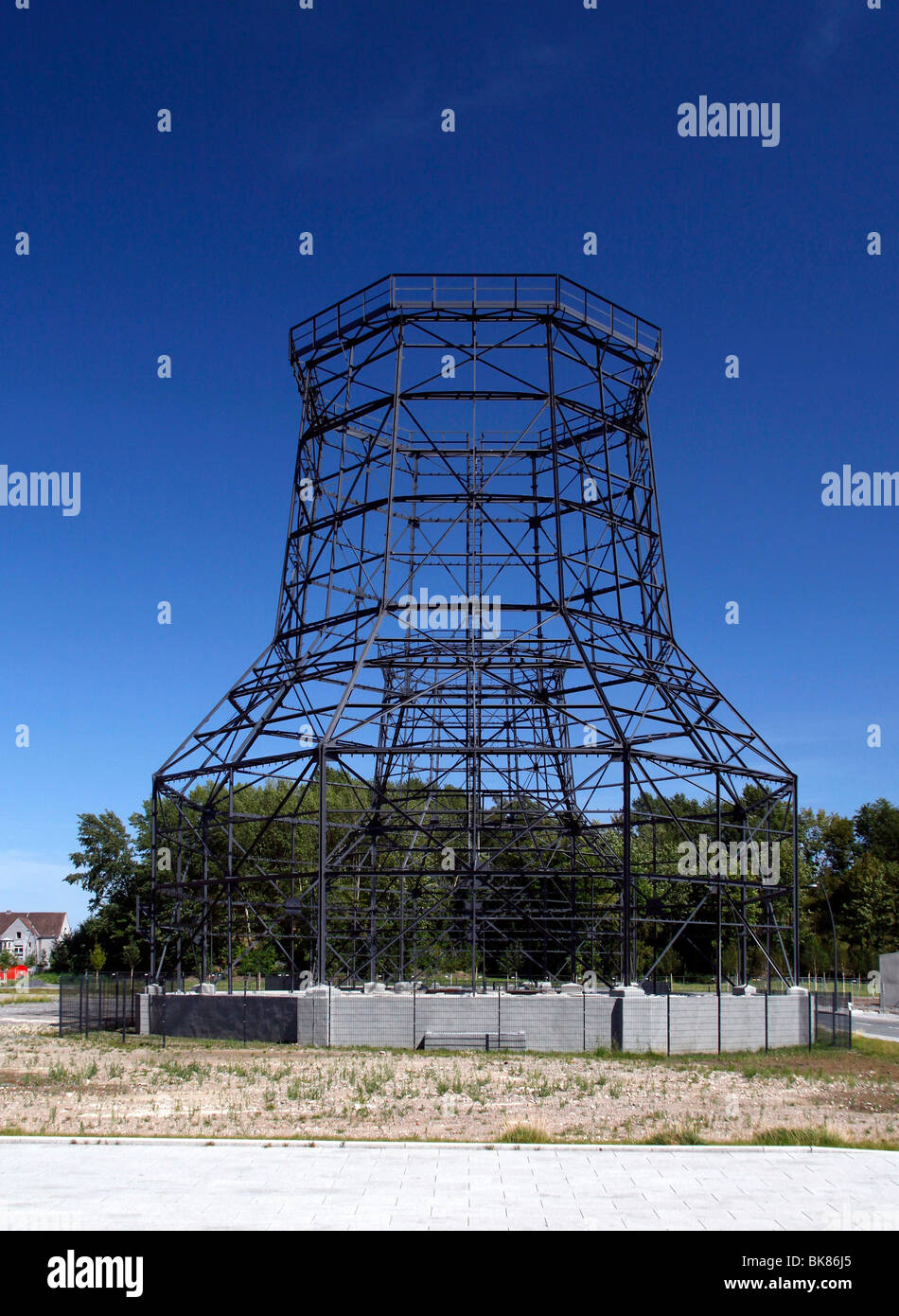 Cooling tower of the former smeltery Phoenix West, today par