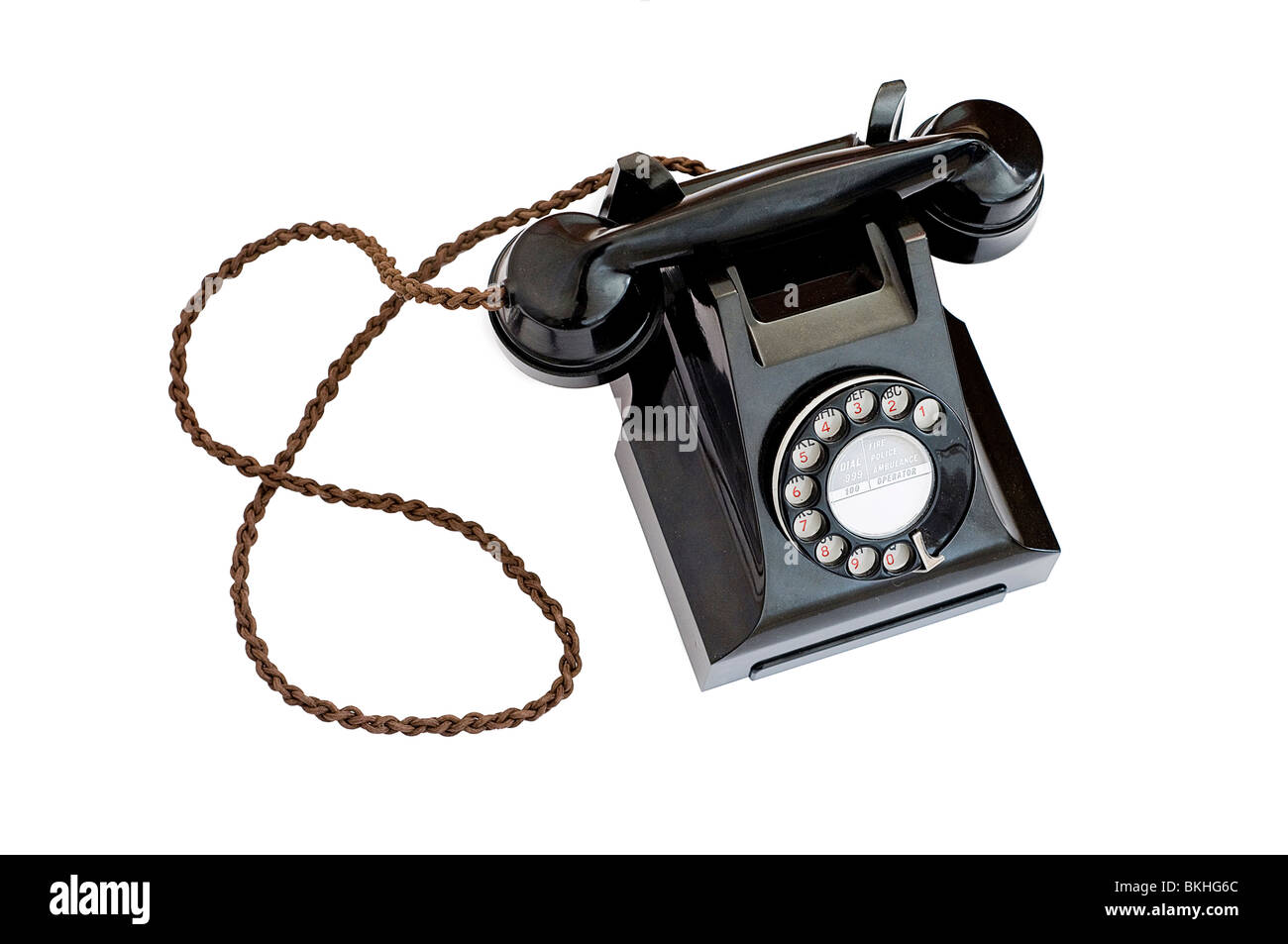 Old fashioned phone receiver for cell 11