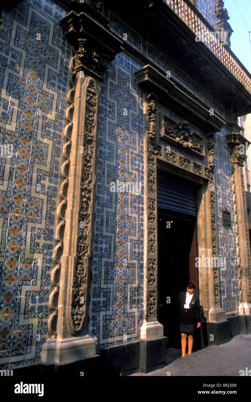 House of tiles mexico city mexico stock photo royalty for House of tiles mexico city
