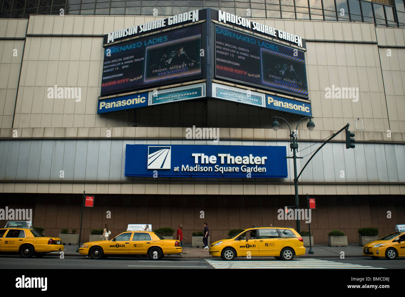 The Theater In Madison Square Garden Formerly The Wamu Theater In Stock Photo Royalty Free