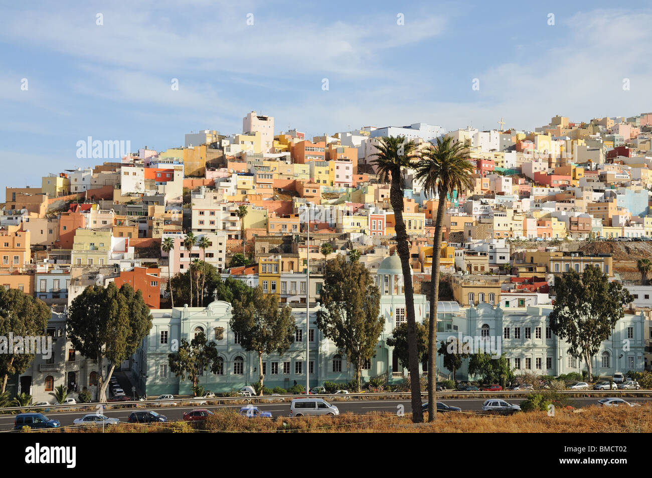 Old town of las palmas de gran canaria spain stock photo - Living in gran canaria ...
