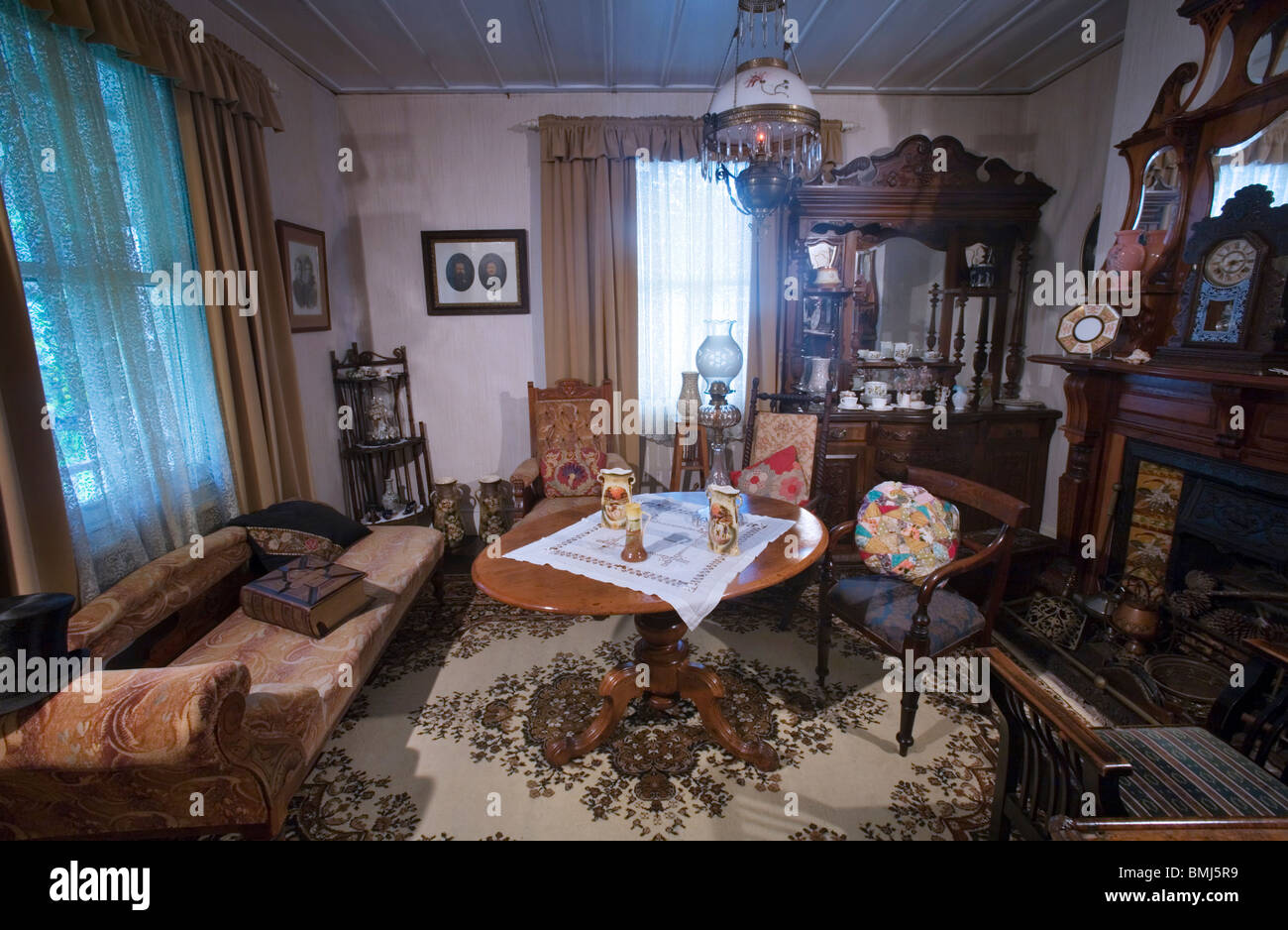 A Nineteenth Xix Century 1800s Living Room With
