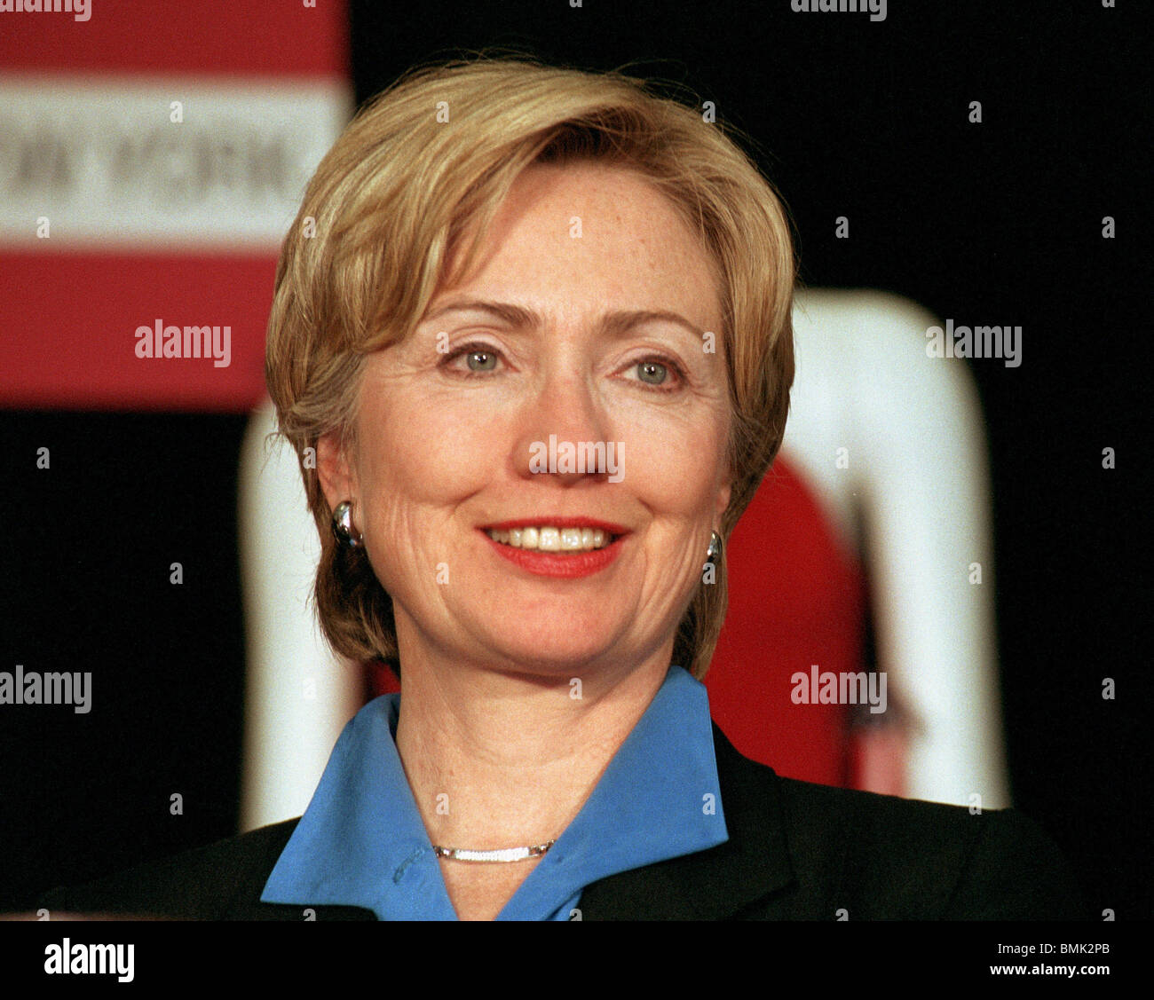 Hillary Clinton Latest News: New York State Senator Hillary Clinton Appears At A UNITE