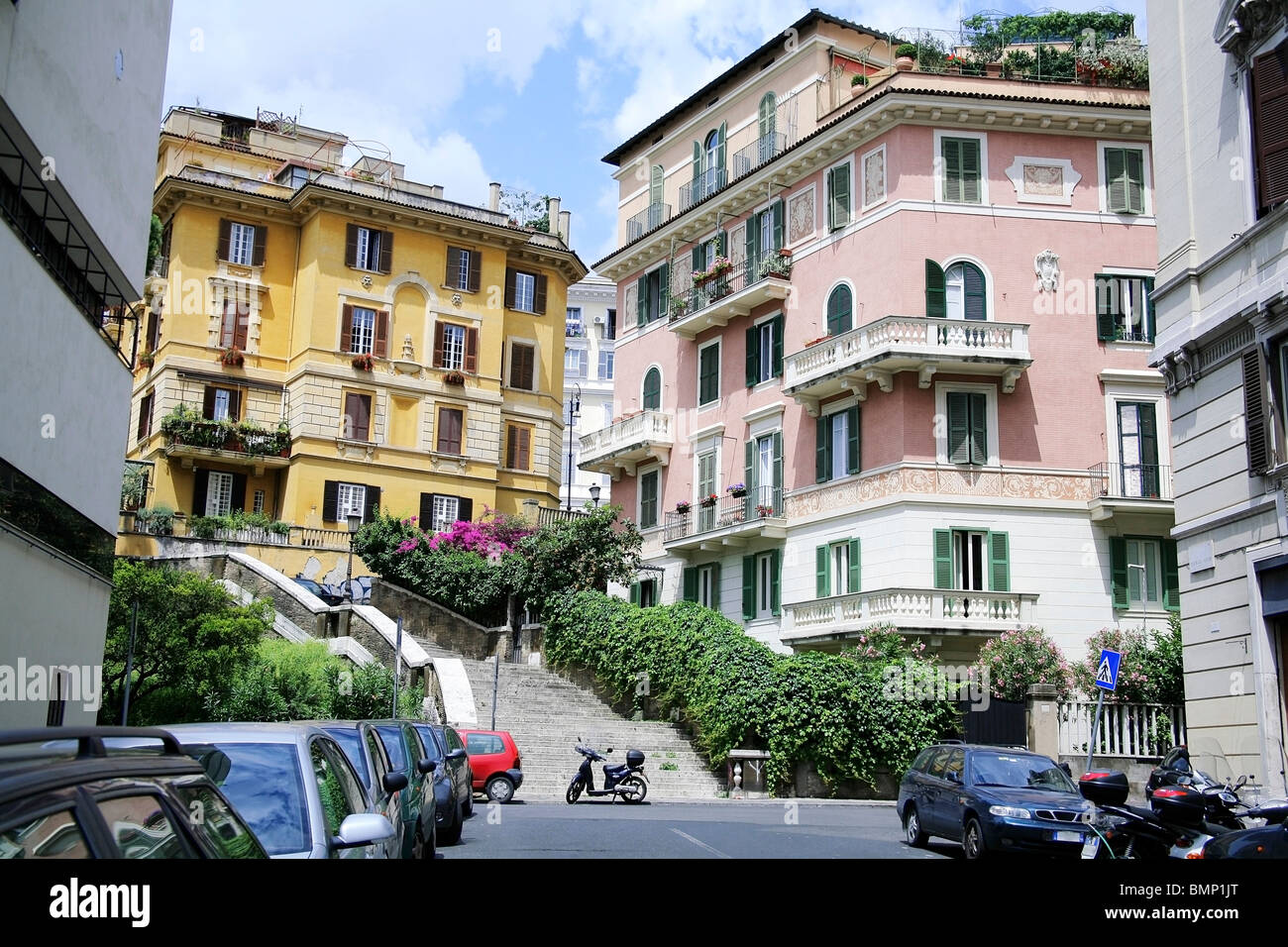 Rome Italy The Streets Of Rome Stock Photo Royalty Free Image 29987744 Alamy