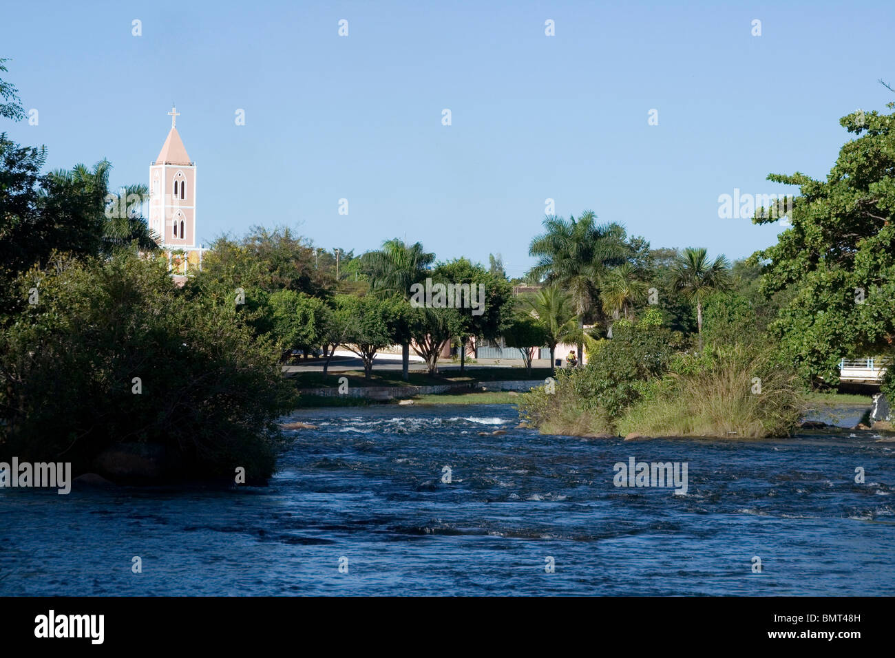 Correntes River, Correntina, Bahia, Brazil Stock Photo