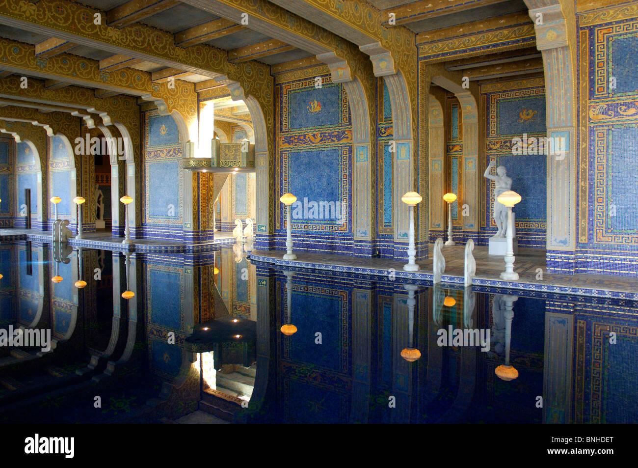 Usa san simeon california hearst castle state park for Castle gardens pool