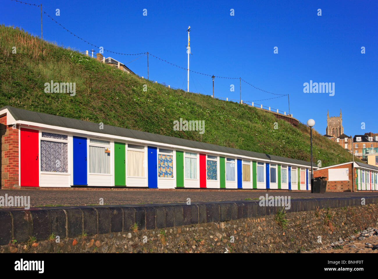 Beach Huts In Cromer