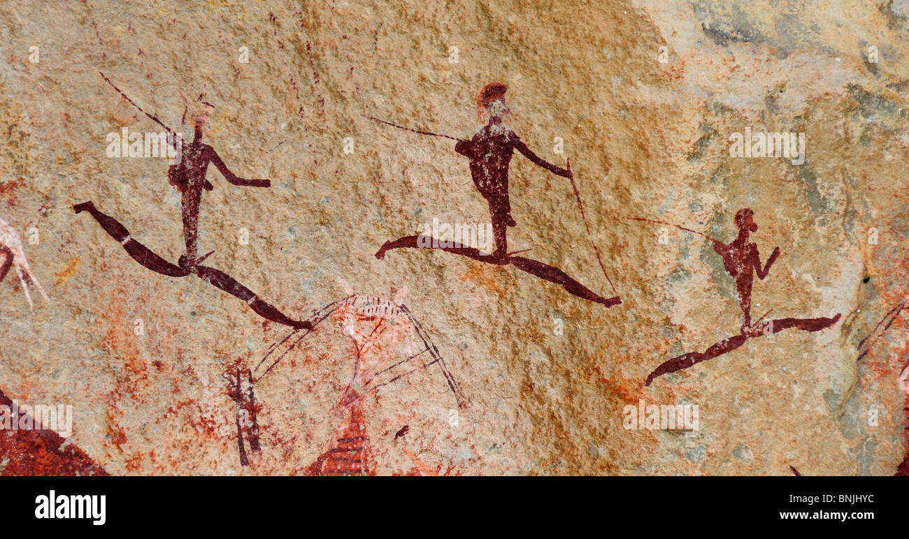 San Rock Art Painting And The Meaning Of The Paintings