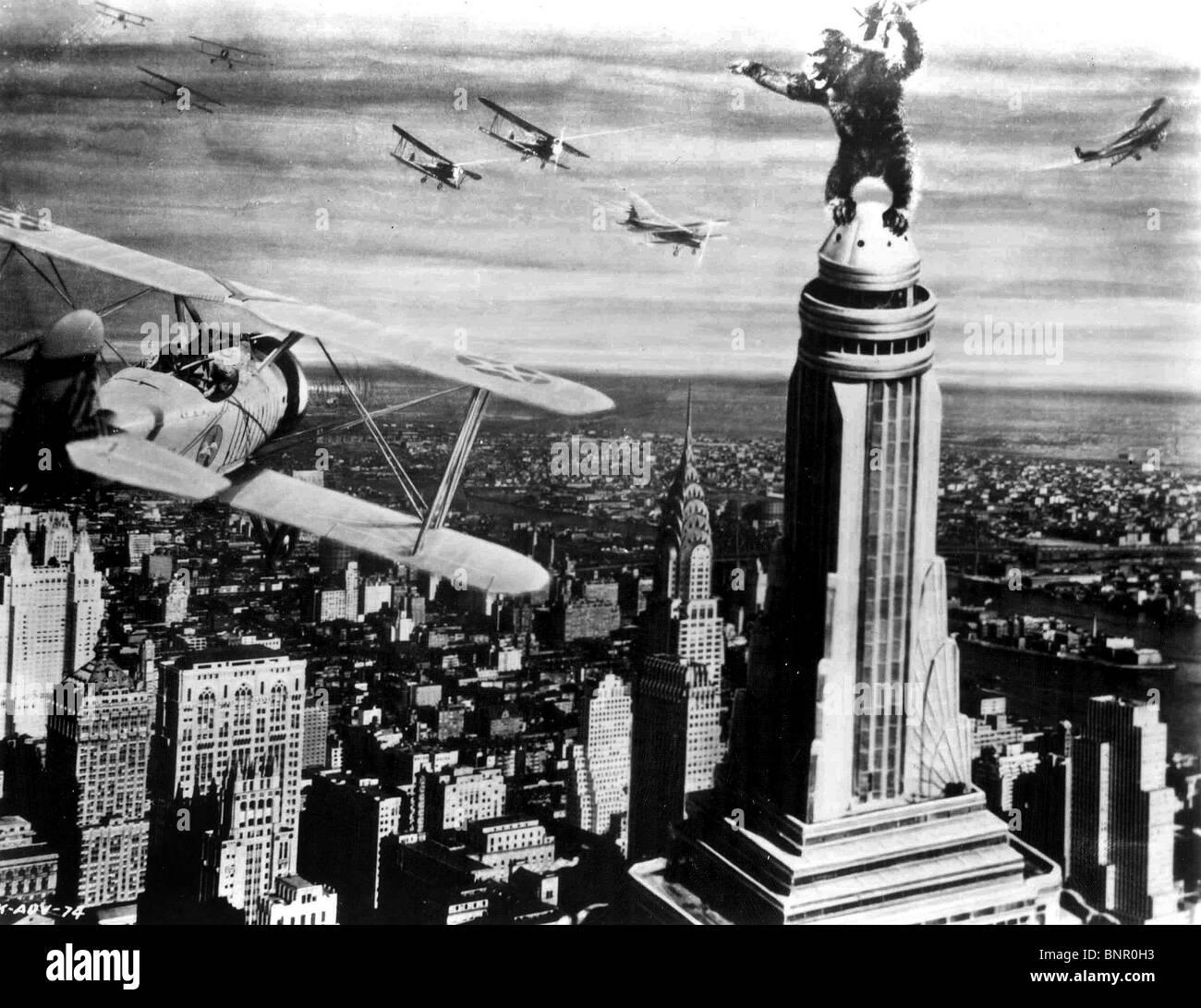 Gorilla Climbing Empire State Building