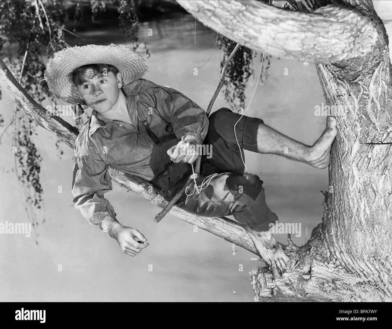 MICKEY ROONEY THE ADVENTURES OF HUCKLEBERRY FINN (1939 Stock Photo, Royalty Free Image: 30958535 ...