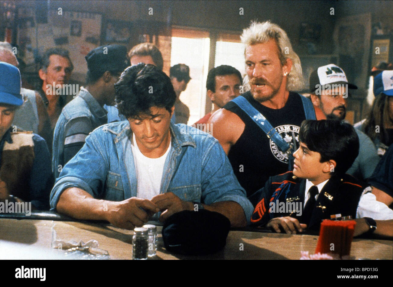 sylvester stallone terry funk amp david mendenhall over the