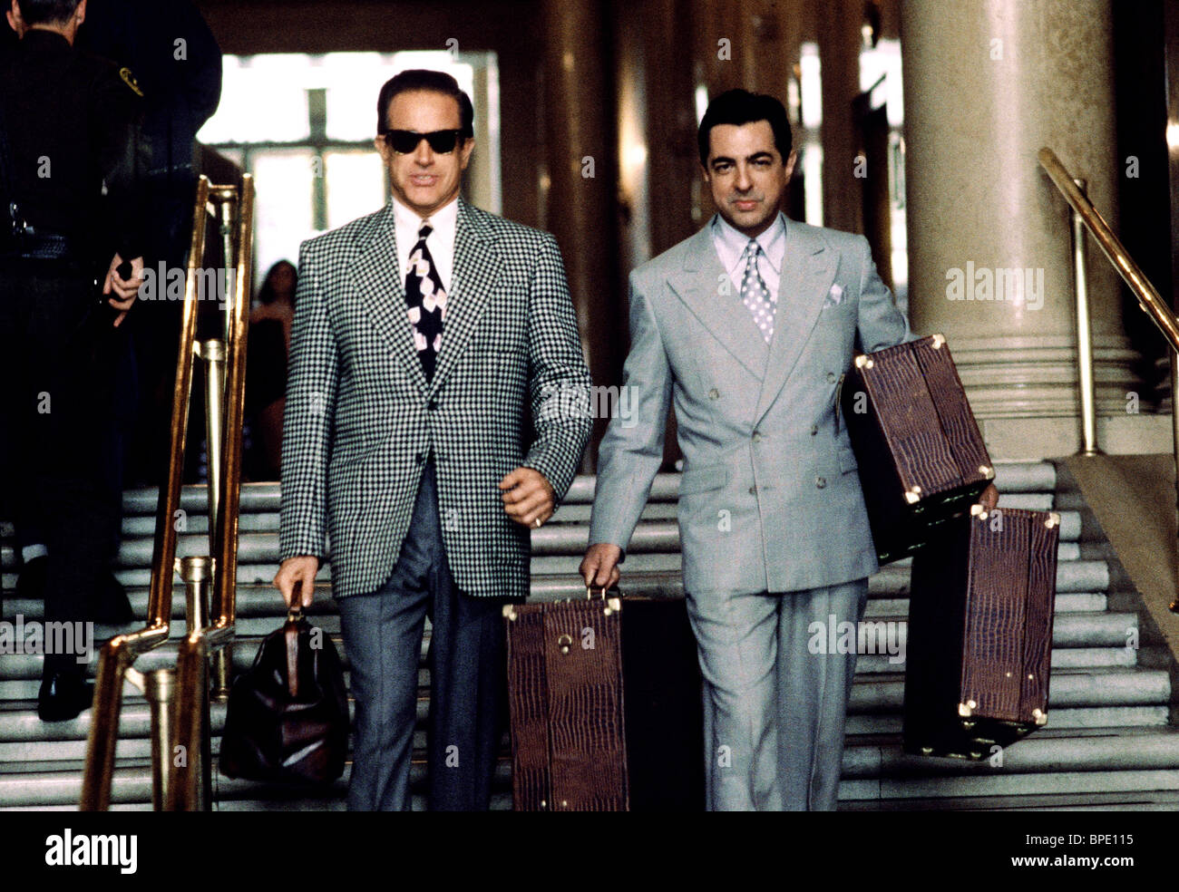 WARREN BEATTY & JOE MANTEGNA BUGSY (1991 Stock Photo ...