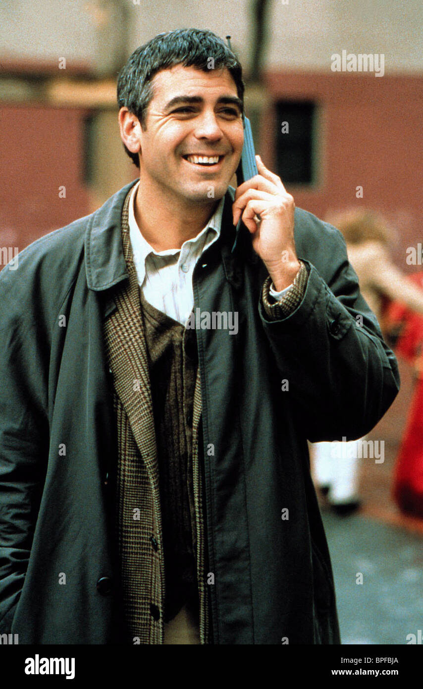 GEORGE CLOONEY ONE FINE DAY (1996 Stock Photo, Royalty ...