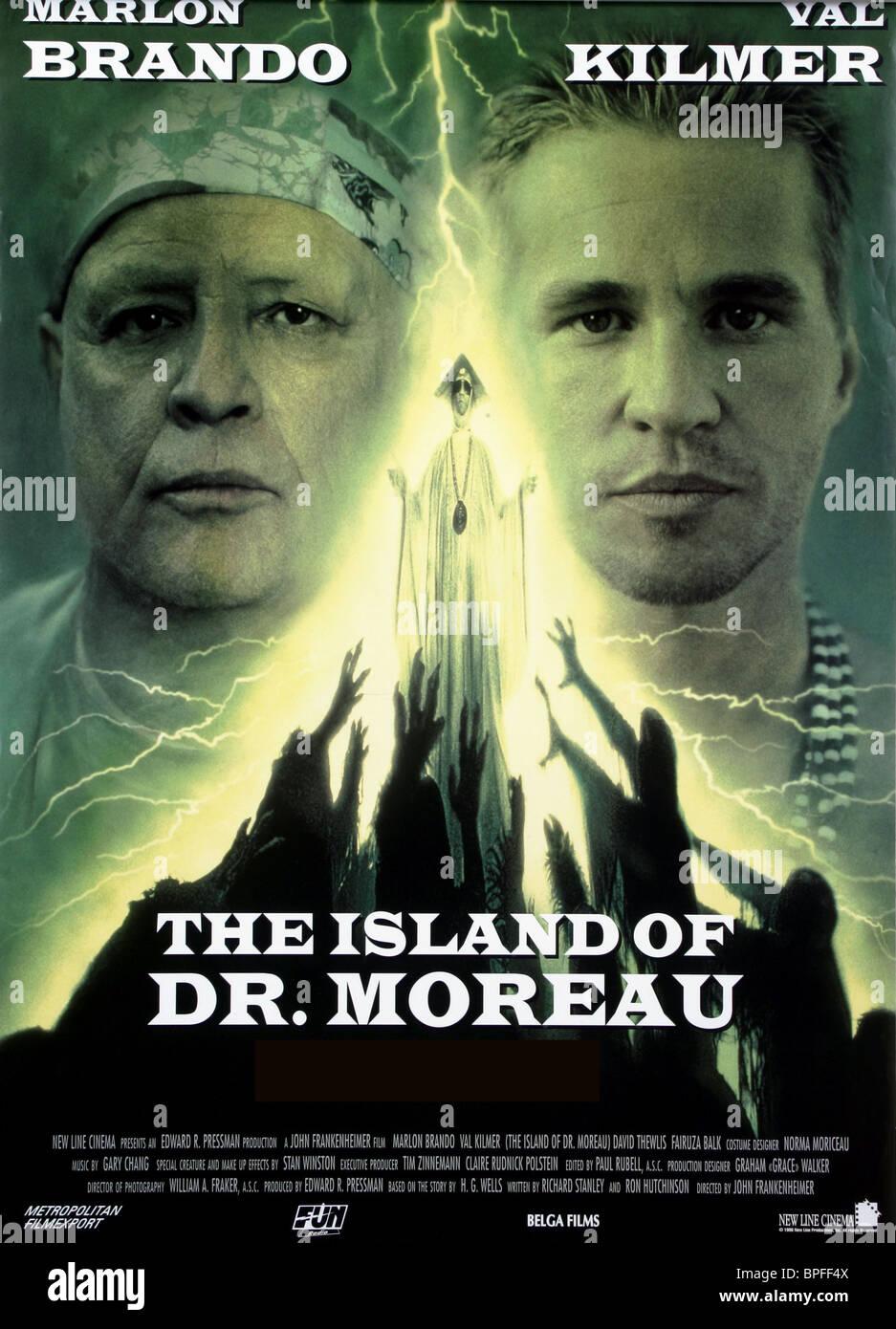The Island Of Dr Moreau En Francais