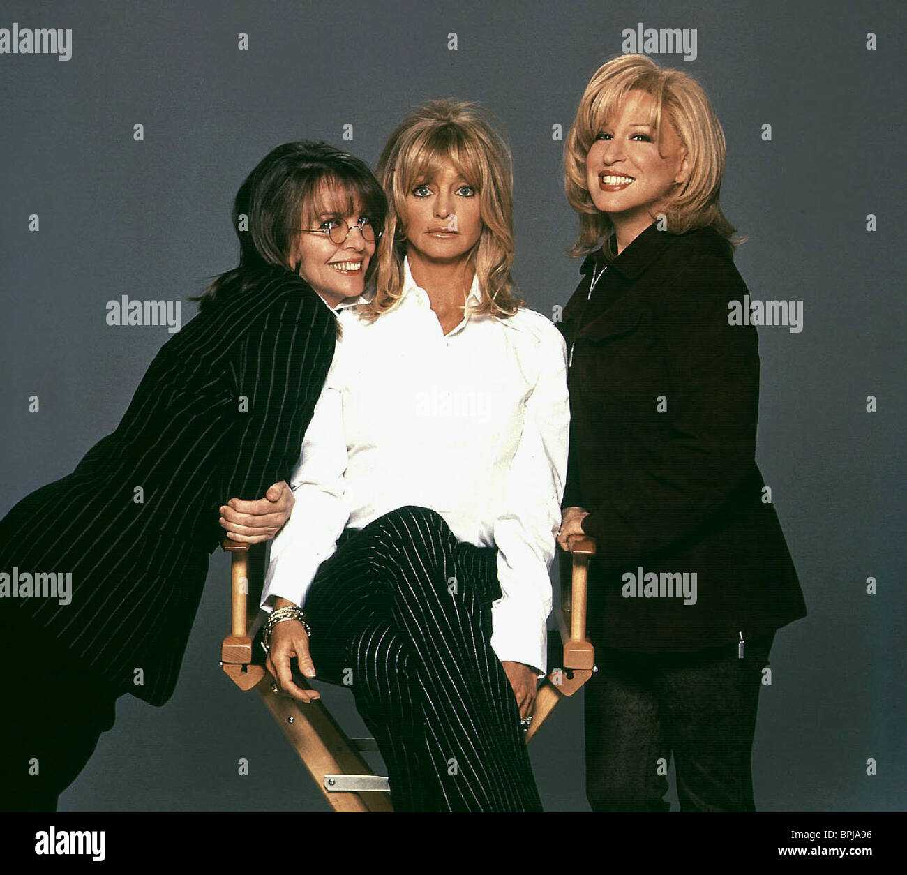 DIANE KEATON GOLDIE HAWN & BETTE MIDLER THE FIRST WIVES ...