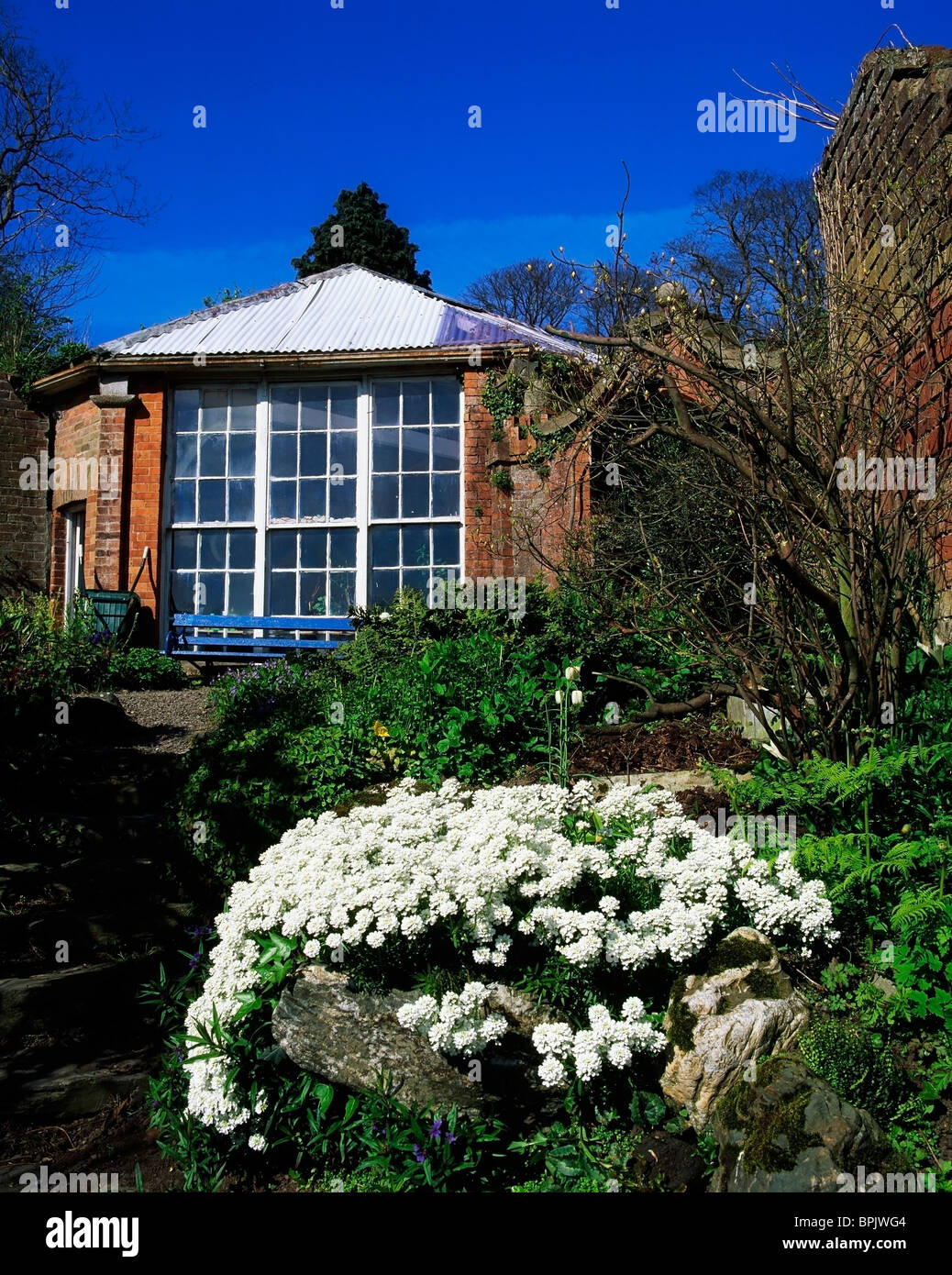 Drogheda Co Louth Ireland Potting Shed In Walled Garden