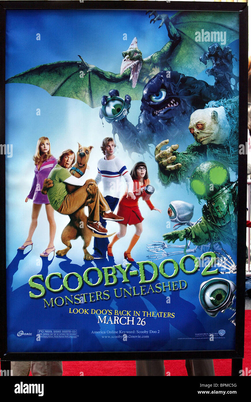scoobydoo 2 monsters unleashed poster scoobydoo 2 us