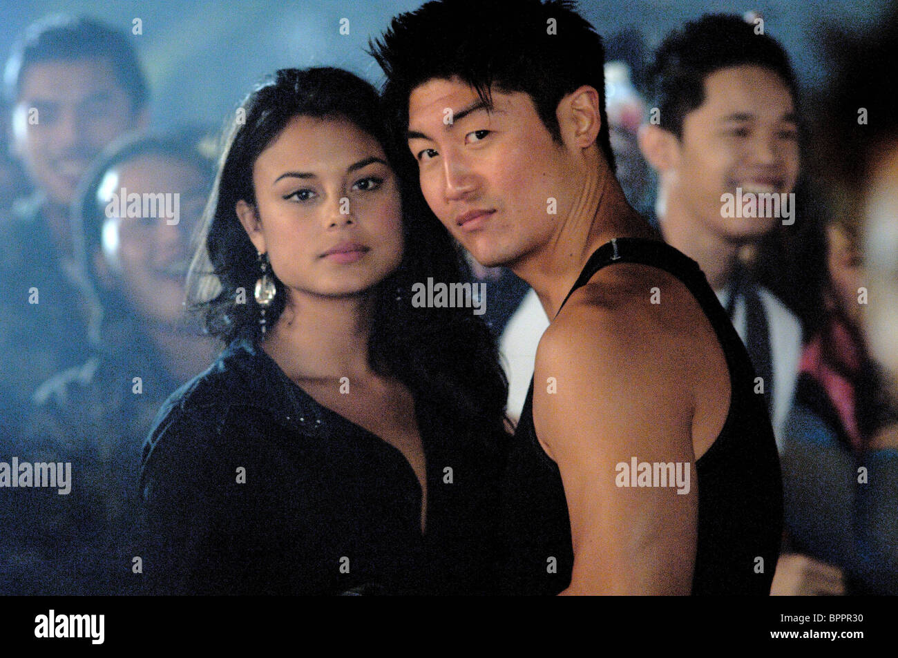 nathalie kelley brian tee the fast and the furious 3 the fast and stock photo royalty free. Black Bedroom Furniture Sets. Home Design Ideas
