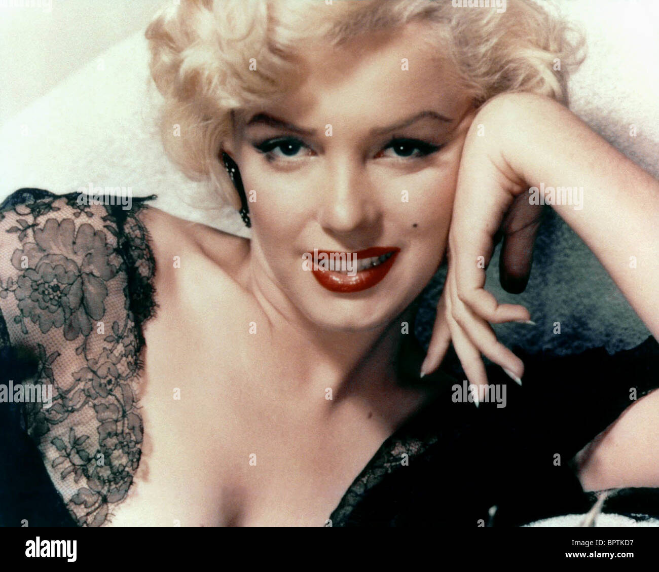 MARILYN MONROE ACTRESS (1957) Stock Foto
