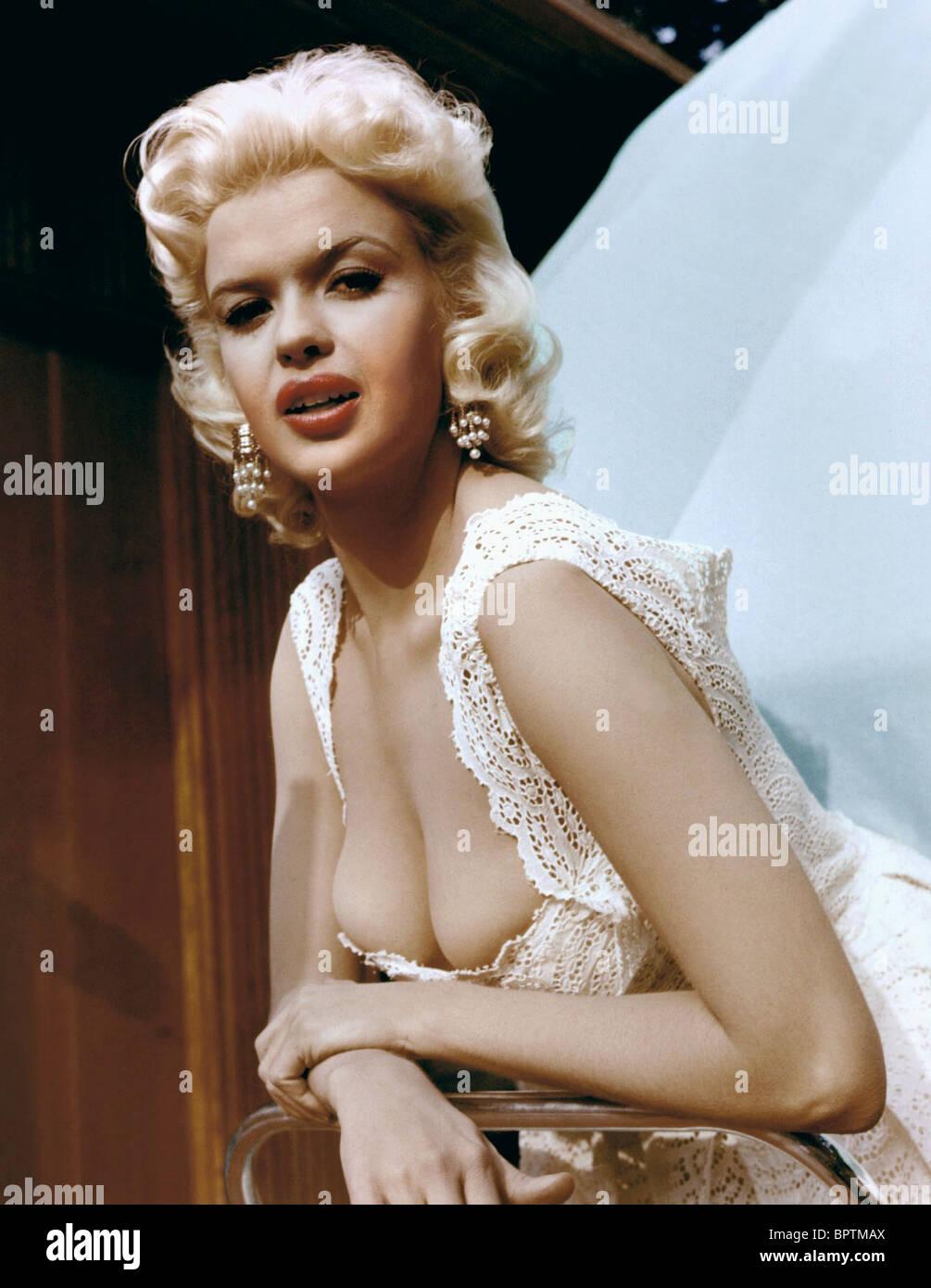Jane Mansfield Jayne Mansfield Actress 1960 Stock Photo