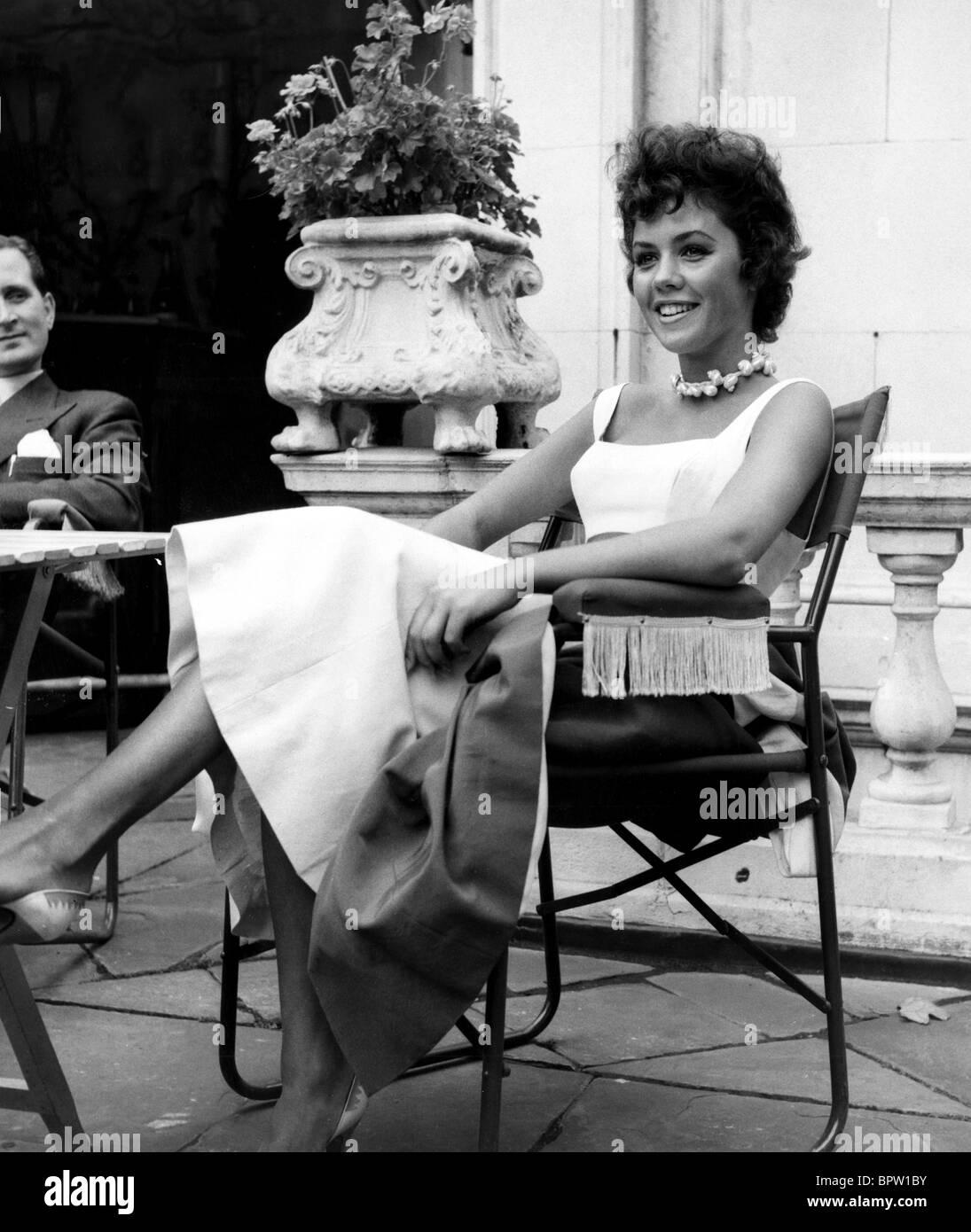 jackie lane actress 1957 stock photo royalty free image