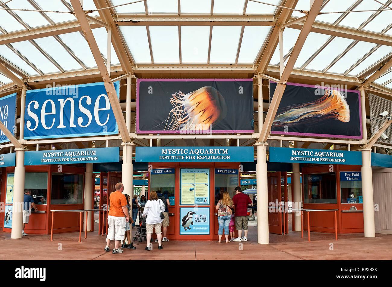Mystic Aquarium, Connecticut, CT, USA Stock Photo, Royalty ...