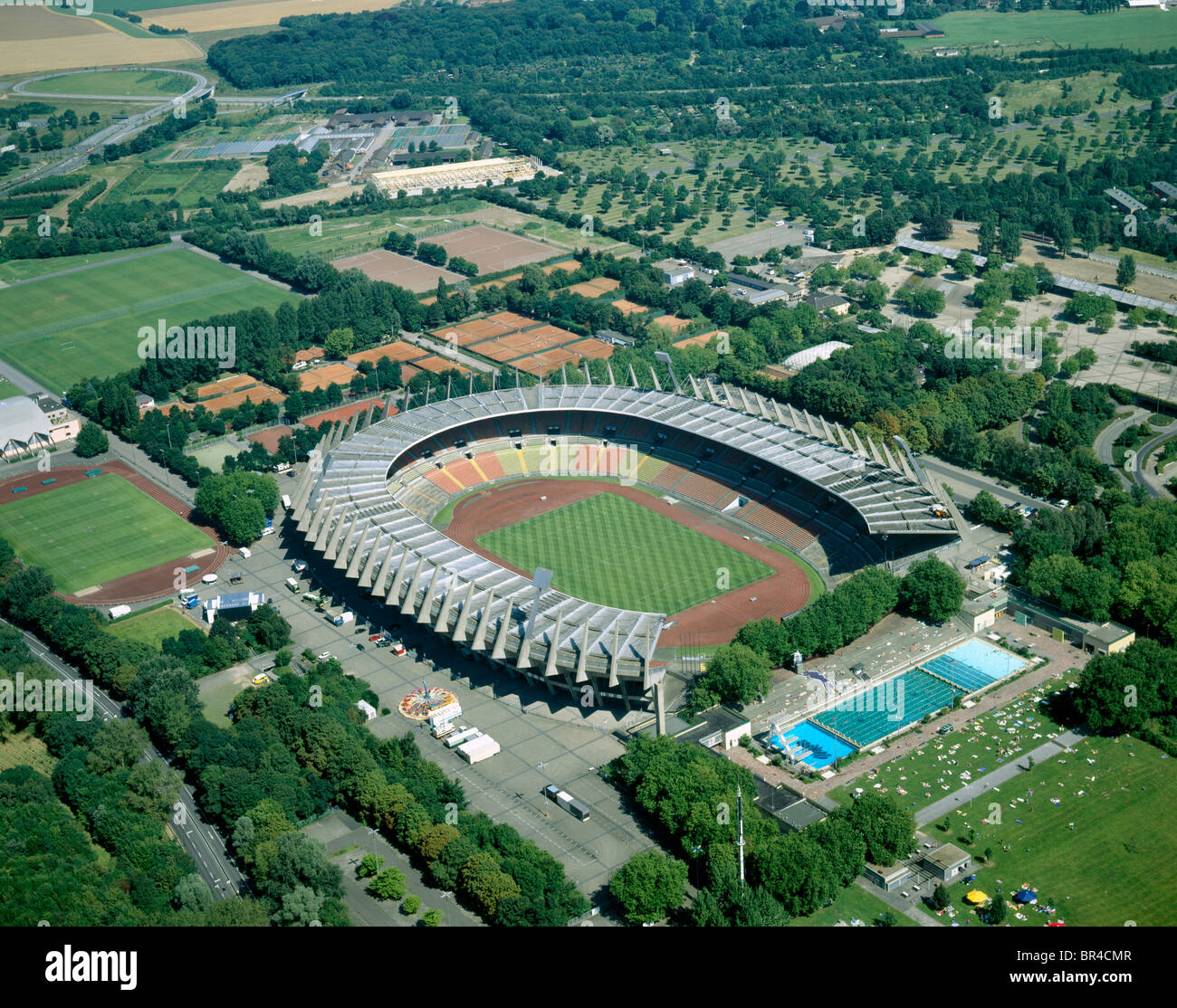 rhine stadium rheinstadion in duesseldorf germany north stock photo 31445255 alamy. Black Bedroom Furniture Sets. Home Design Ideas