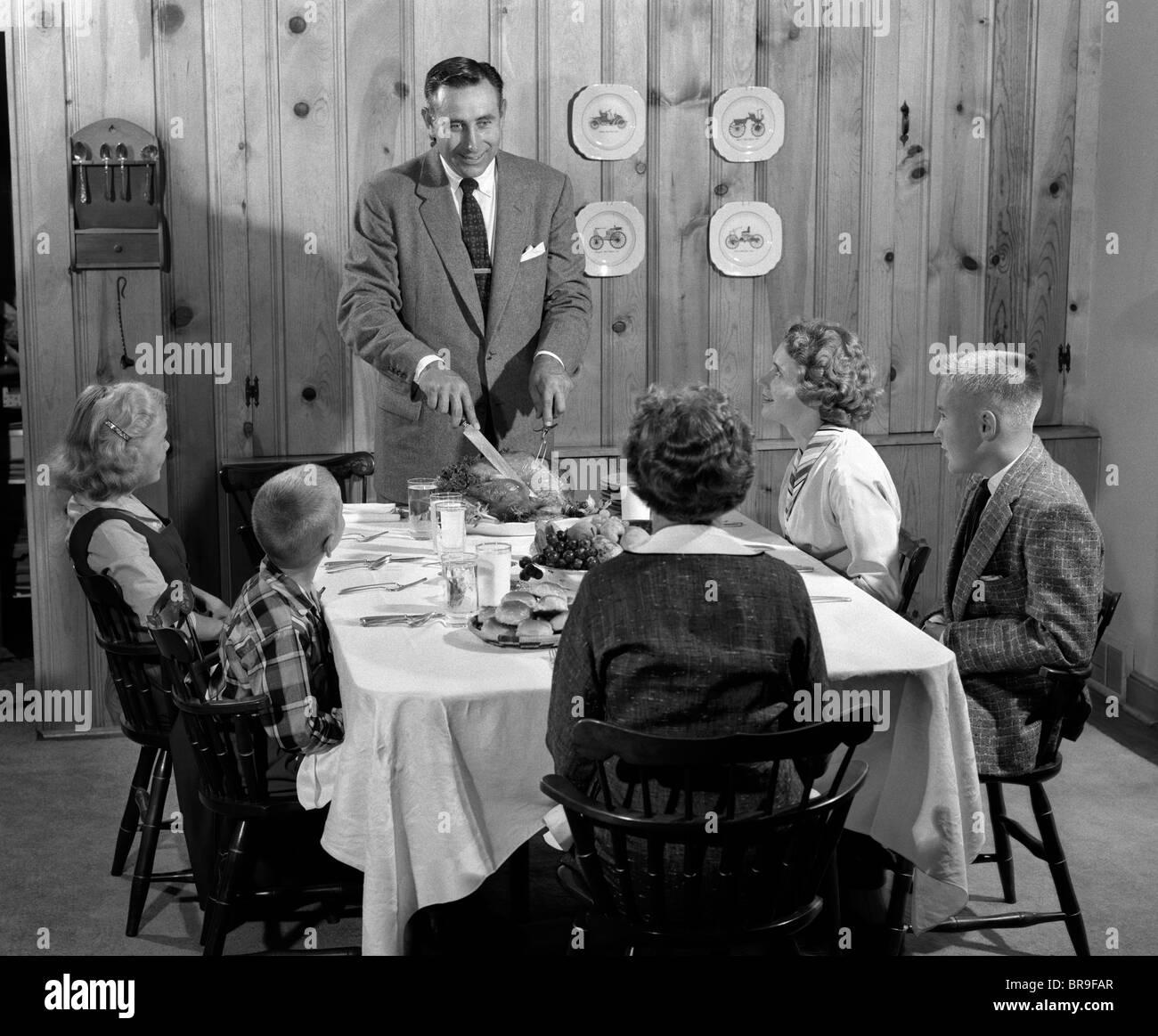 1950 Dining Room Furniture Family Dinner 195039s Stock Photos Amp Family Dinner 195039s Stock