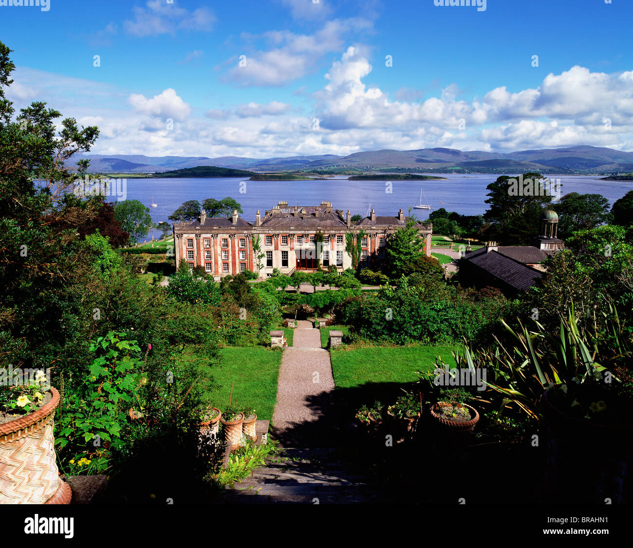 Bantry house county cork ireland stock photo royalty for Bantry house
