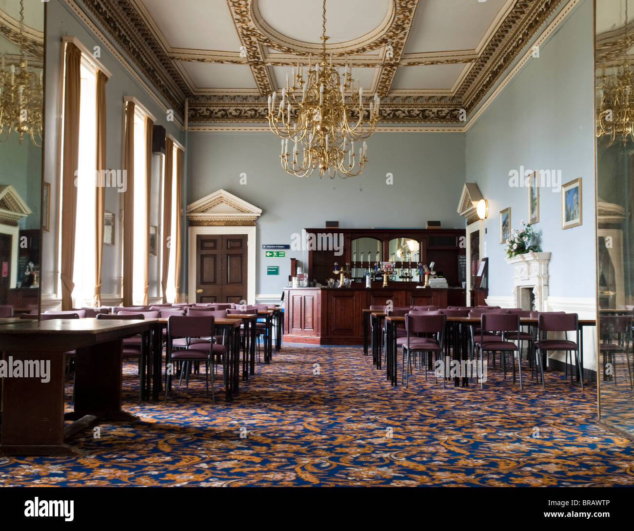 The Blue Room At Wentworth Castle Stainborough Near