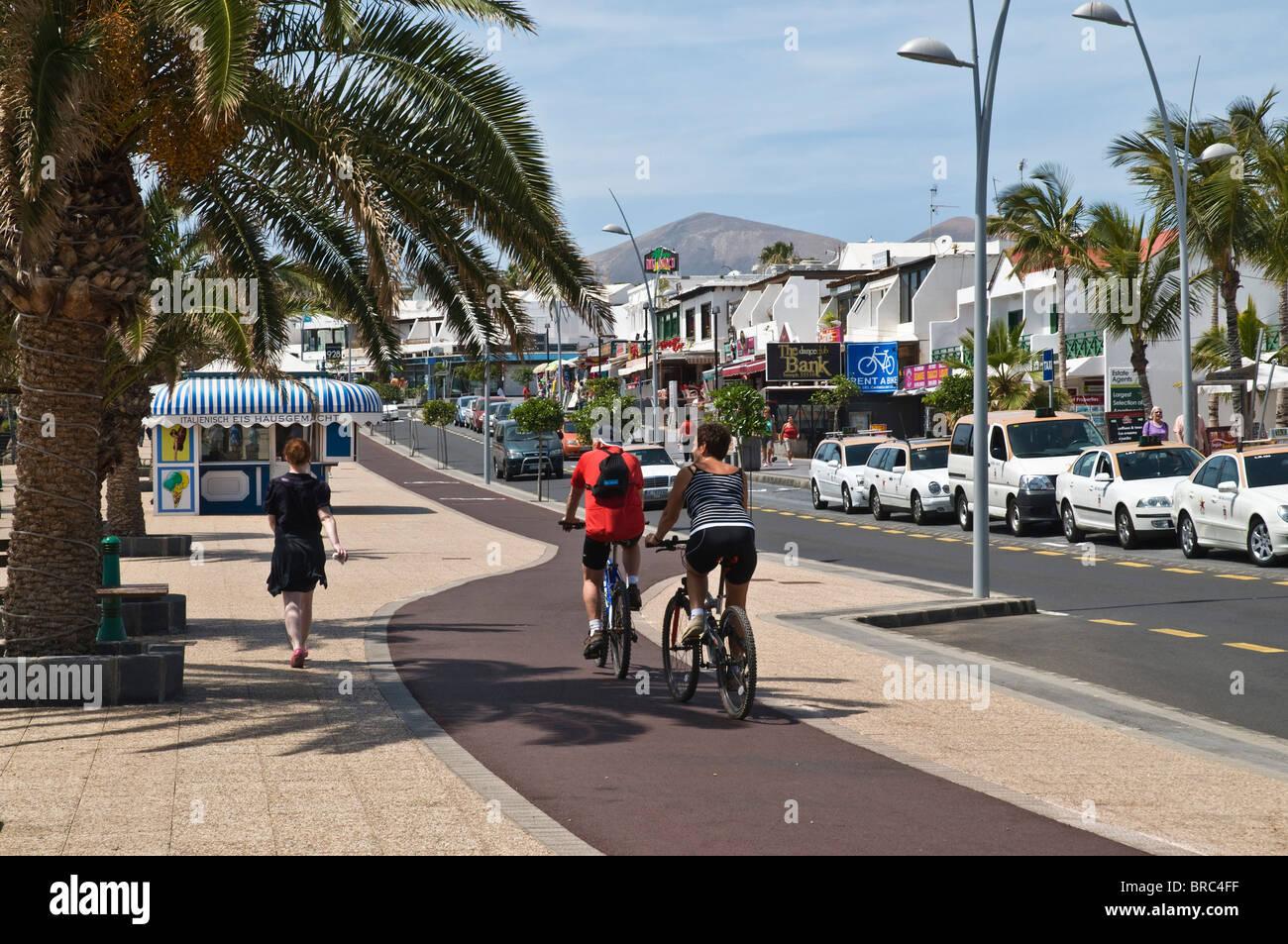 Dh puerto del carmen lanzarote tourist walking and - Lanzarote walks from puerto del carmen ...