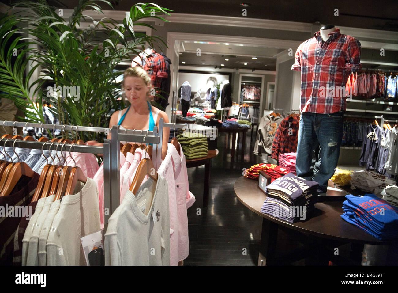 Teen girl clothing store