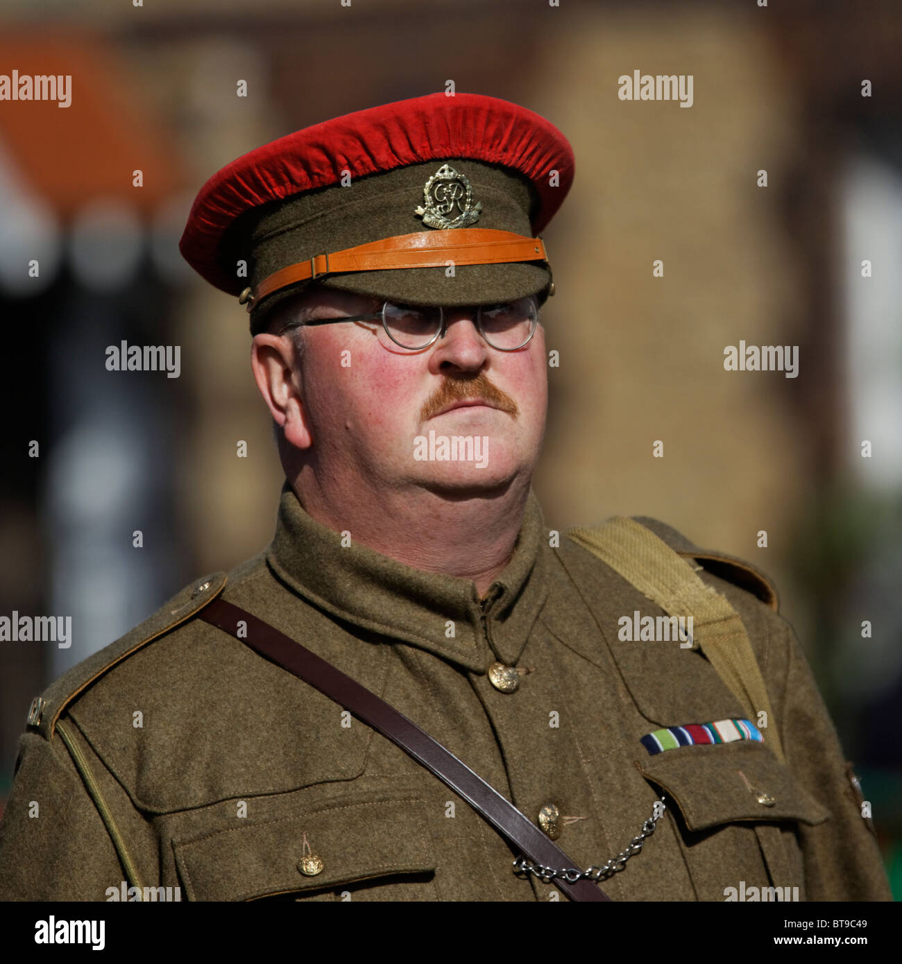 1940s Red Cap British Army Royal Military Police Officer