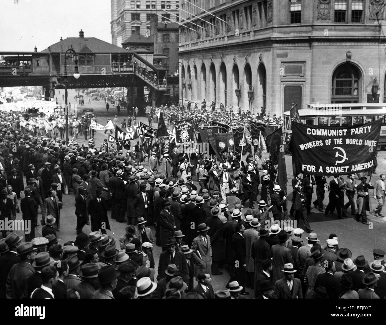 May Day procession of the Communists 8