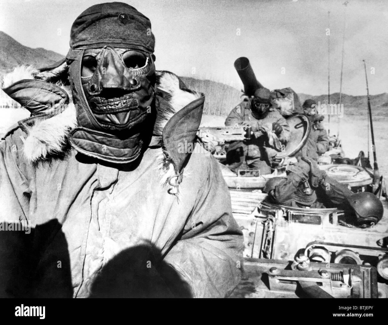 U S Marines In Korea During The Korean War 1951 Stock