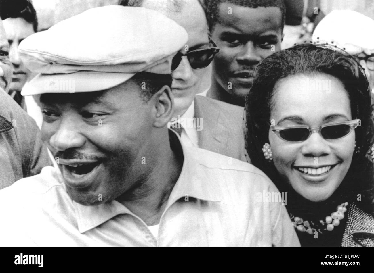 Martin Luther King Jr. And Coretta Scott King On The Stock