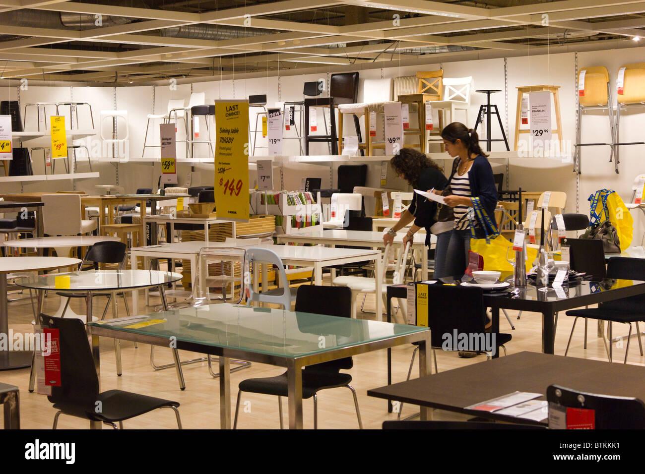 Ikea Furniture Warehouse Store Plymouth Meeting Pennsylvania Usa Stock Photo Royalty Free