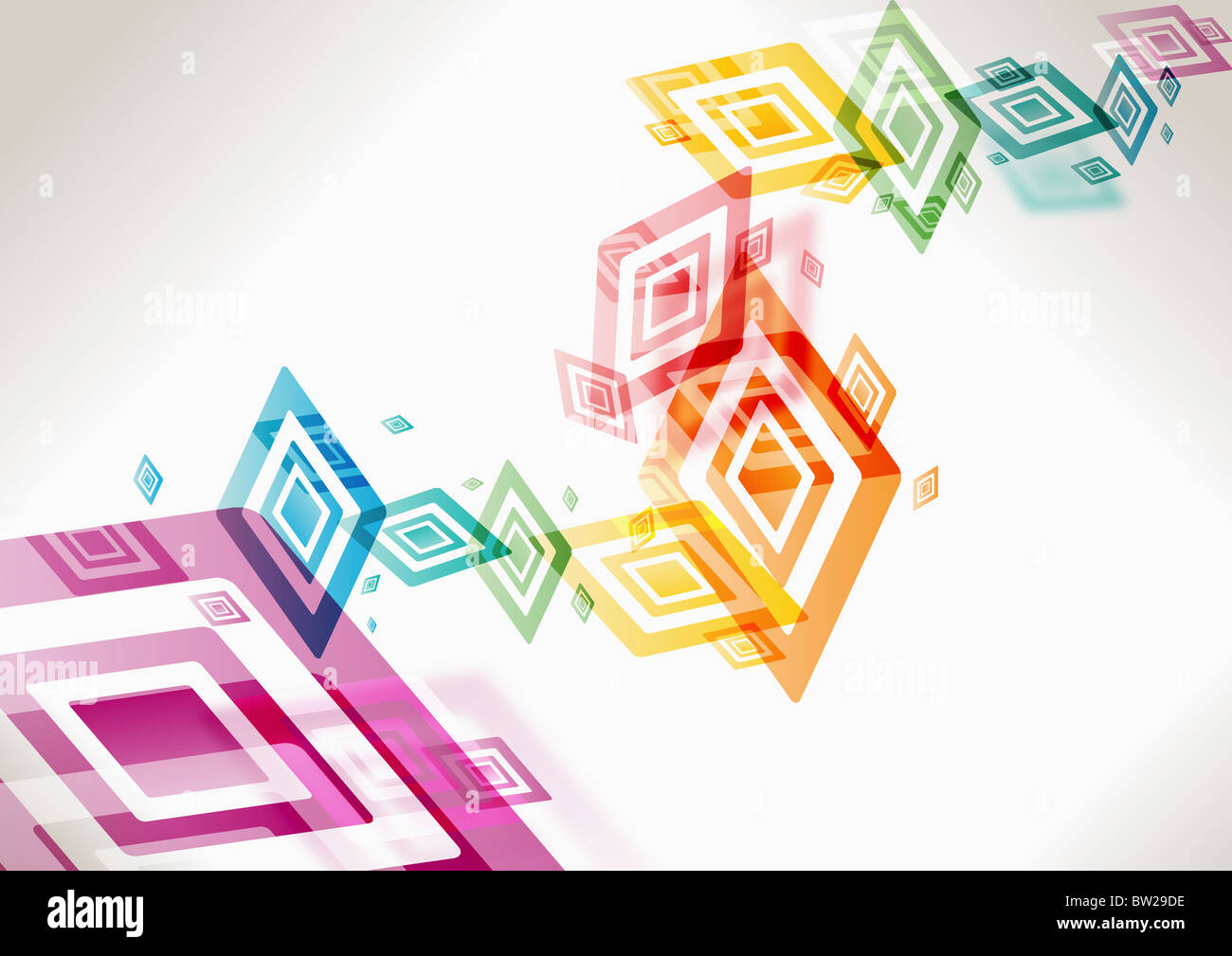 colorful rectangle pattern\ Stock Foto
