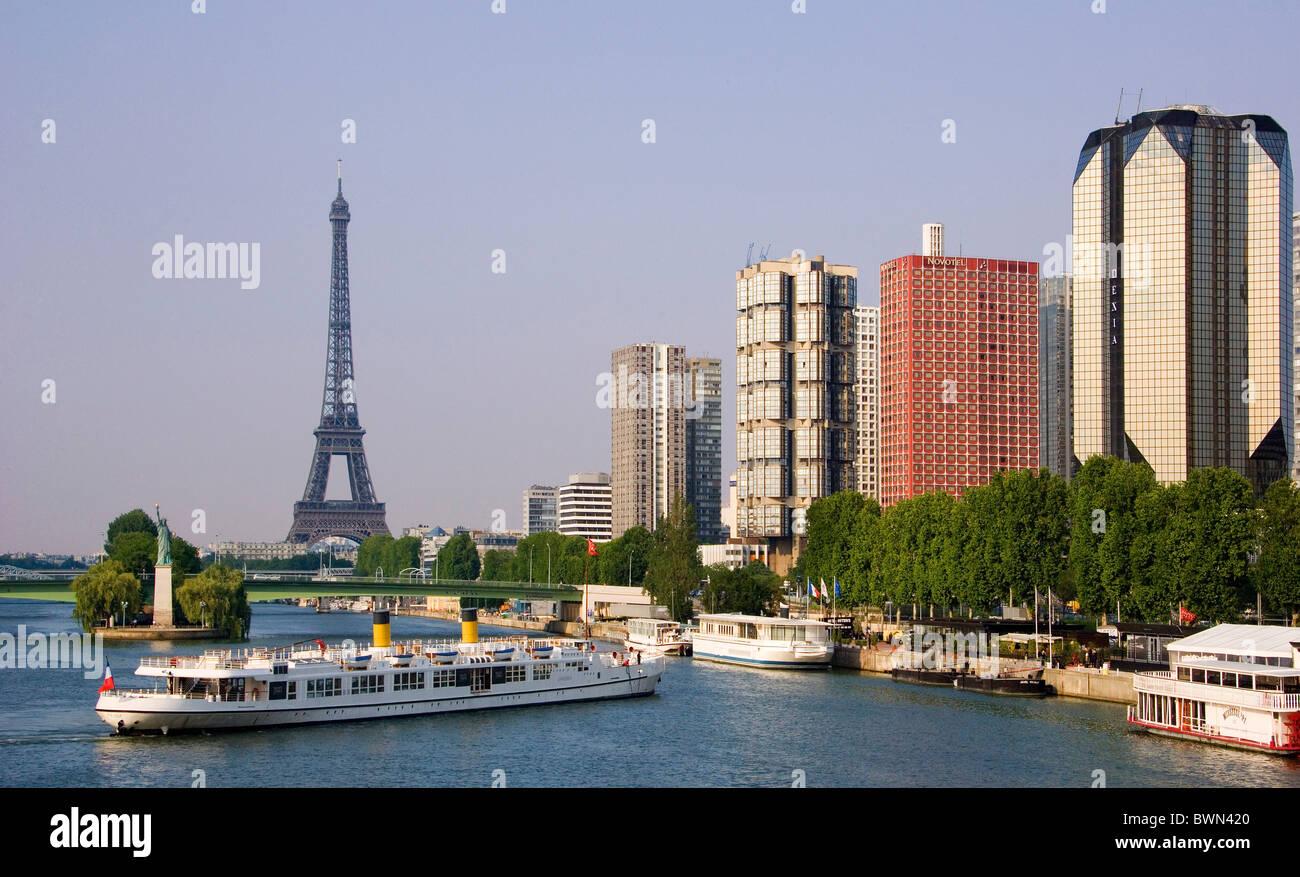 europe city quartier de grenelle port de javel haut stock photo royalty free image