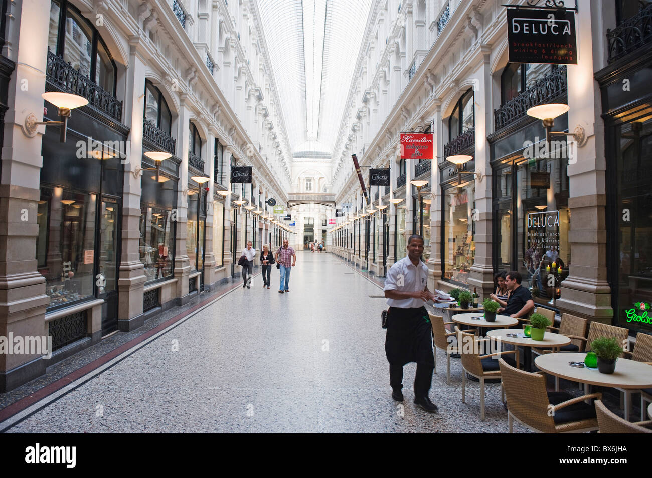 the passage shopping arcade den haag the hague netherlands stock photo 33337734 alamy. Black Bedroom Furniture Sets. Home Design Ideas